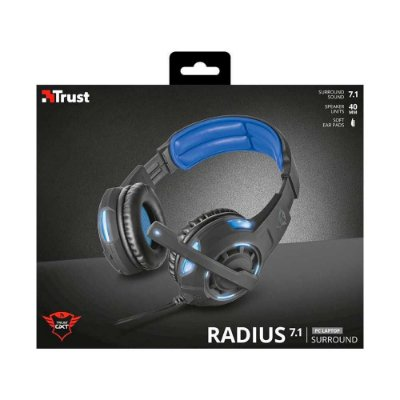 Headset Gamer Trust GXT310 Radius 7.1 T22052