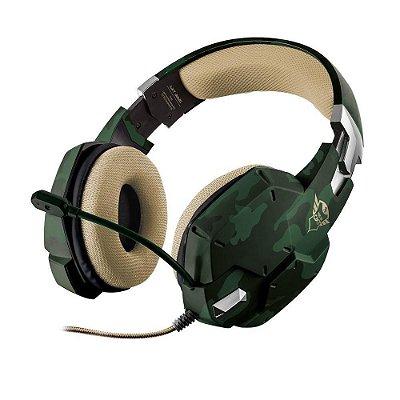 Headset Gamer Trust Gxt322c Carus Verde/camo T20865