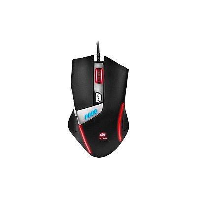 Mouse Gamer C3 Tech Griffin 4000dpi Com Iluminação Mg-500bk