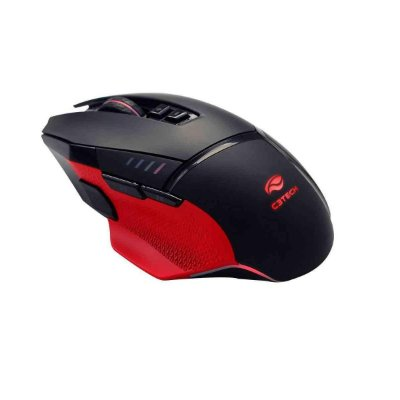 Mouse Gamer C3 Tech Osprey 12000dpi 8 Botões Led Rgb Mg800bk