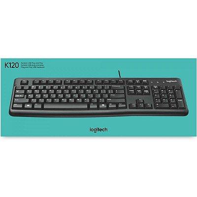 Teclado Logitech K120 Abnt2