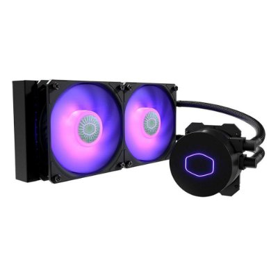 Water Cooler Cooler Master Masterliquid Ml240l V2 Rgb, 240mm - Mlw-d24m-a18pc-r2