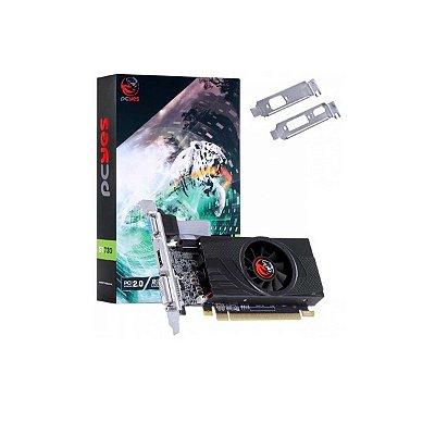 Placa De Video Nvidia Geforce 2gb Gt730 Gddr5 64bit Pcyes LP