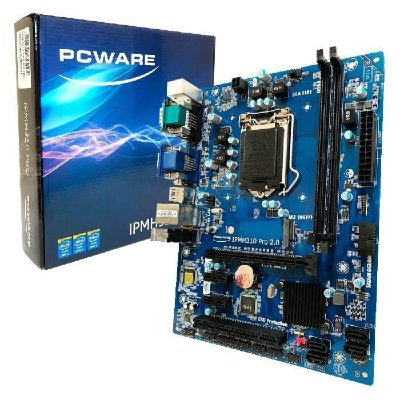 Placa Mãe Pcware Ipmh310g ProR.2 Intel 8/9 Ger Ddr4 Lga1151