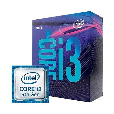 Processador Intel Core I3-9100f 6mb 3.6ghz/4.2ghz Lga1151