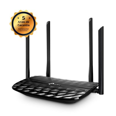 Roteador Wireless Tp-link Archer C6 Ac1200 Gigabit Dual Band