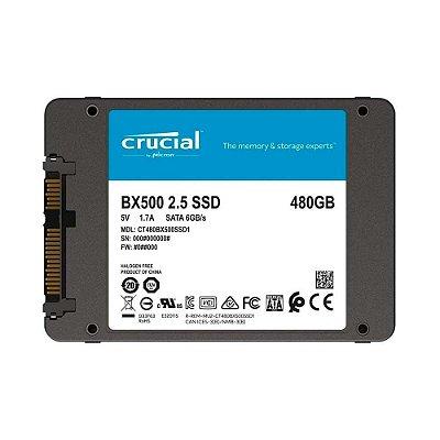 Ssd 480gb Crucial Bx500 3d Nand Ct480bx500ssd1