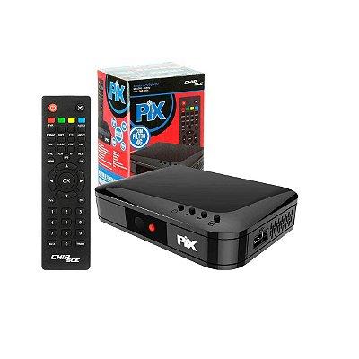 Conversor E Gravador Para Tv Digital Sc-1001 Pix
