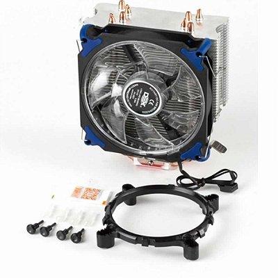 Cooler Dex Universal Para Intel E Amd Com Led Azul Dx-2021