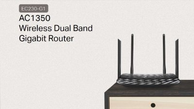 EC230-G1 Roteador Wireless Dual Band AC1350
