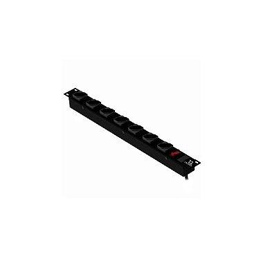 Filtro De Linha 7 Tomadas P/ Rack 19´ Lacerda 250120107-m10