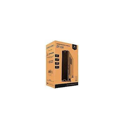 Gabinete C3tech Micro-atx Com Fonte Preto Dt-150bk