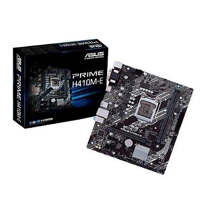 Placa Mãe Asus Prime H410m-e Intel 1200 Ddr4 90mb13h0c1bay0