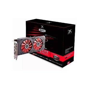 Placa De Vídeo Vga Amd Xfx Radeon Rx 570 4gb Ddr5 256 Bits