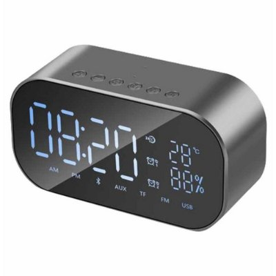 Radio Relogio Digital 30w Rms Hoopson - Clock-01