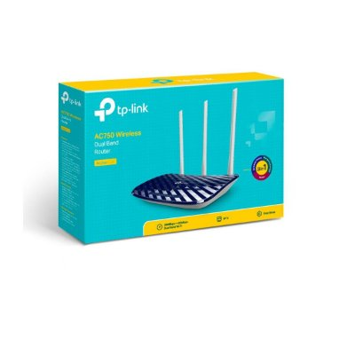 Roteador Wireless Tp-link Archer C20 Ac750 Dual Band V4