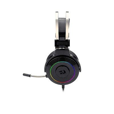 Headset Gamer Redragon Lamia 2 H320 Rgb Surround 7.1 Preto