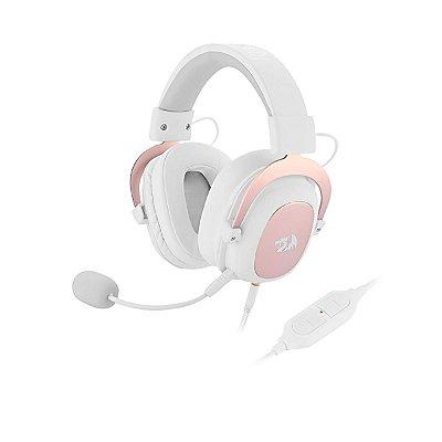 Headset Redragon Zeus 2 Usb Surround 7.1 H510w Branco