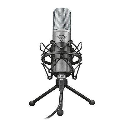 Microfone Trust Gamer Streamer Gxt 242 Lance Usb T22614