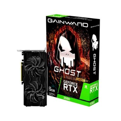 Placa De Vídeo Gainward Nvidia Geforce Rtx 2060 6 Gb Gddr6