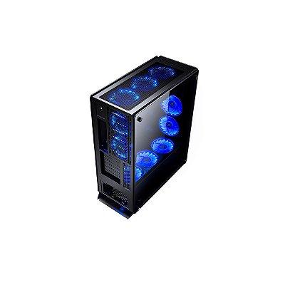Gabinete Gamer Redragon Ironhide Vidro Temperado Rgb Rdgc801