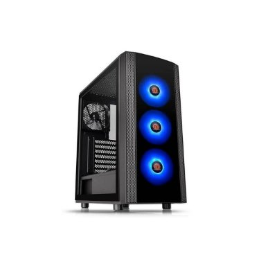 Gabinete Gamer Thermaltake Versa J25 Mid Tower Rgb Com Fan