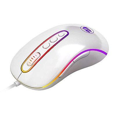 Mouse Gamer Redragon Phoenix 2 Lunar White 10000dpi M702w-1