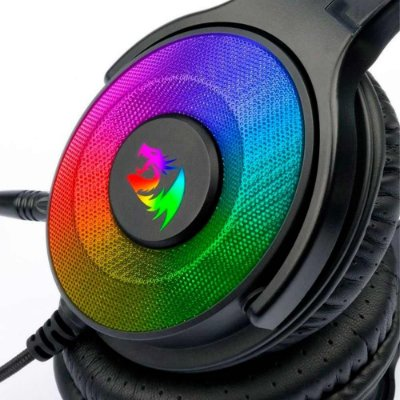 Headset Gamer Redragon Pandora Rgb Surround 7.1 Pto H350rgb
