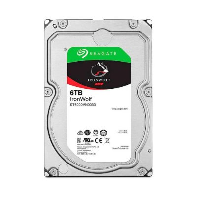 Hd 6tb Sata Iii Seagate Ironwolf 256mb 7200rpm St6000vn0033