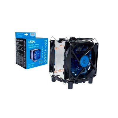 Cooler Gamer Dex Universal Amd E Intel Led Azul - Dx-9100d