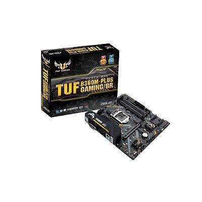 Placa-mãe Asus Intel Lga 1151 Matx Tuf B360m-plus Gaming/br