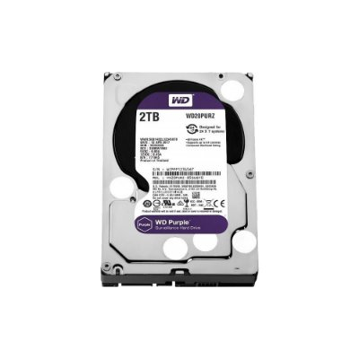 Hd 2tb Sata Iii Western Digital Purple Surveillance Wd20purz