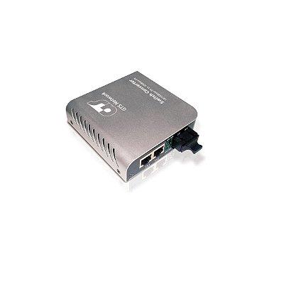 Conversor De Midia Gts Network 751806c 2pts 10/100 + 1pt 100mbps