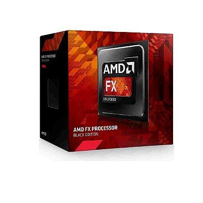 Processador Amd Fx-4300 Fx4 3.8ghz 8mb Am3 Black Edition