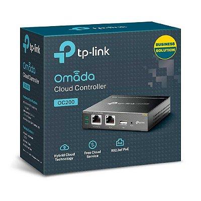 Controlador Eap Tp-link Cloud Omada Oc200 2 Lan Poe 1 Usb