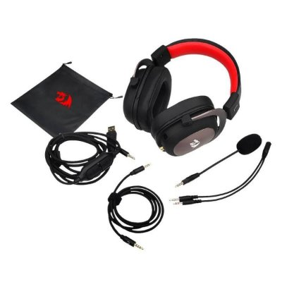Headset Redragon Zeus 2, Usb, Surround 7.1, H510-1