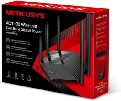 Roteador Mr50g Mercusys By Tp-link Dual Band Ac1900