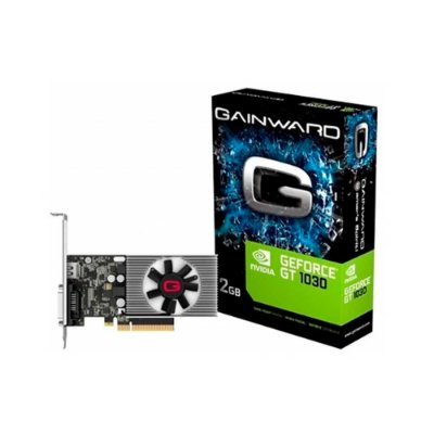 Placa De Vídeo 2gb Ddr5 64 Bits Gt1030 Gainward Pci- E Dvi/hdmi Ne5103000646-108f