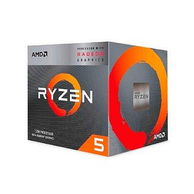 Processador Amd Ryzen 3 3400g Cache 4mb 3.7ghz Am4