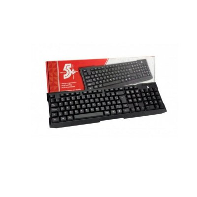Teclado Usb 5+ Std Office Preto
