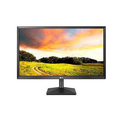 Monitor Lg 19.5 Led Hdmi/d-sub/vesa Preto 20mk400h