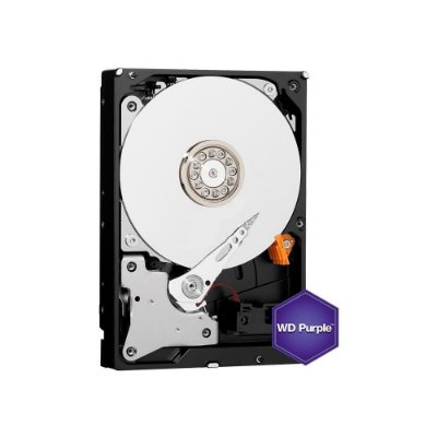 Hd Wd 1tb Purple Surveillance Intellipower 64mb Sata 6.0gb/s
