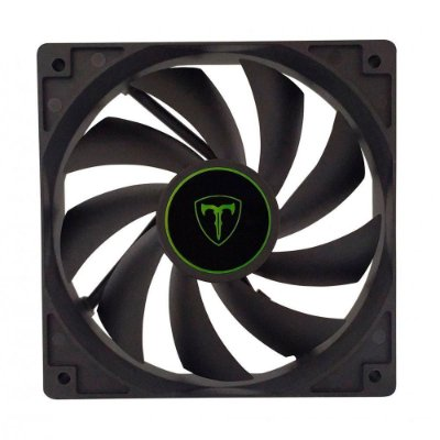 Cooler Fan Para Gabinete T-dagger 120mm Black T-tgf100