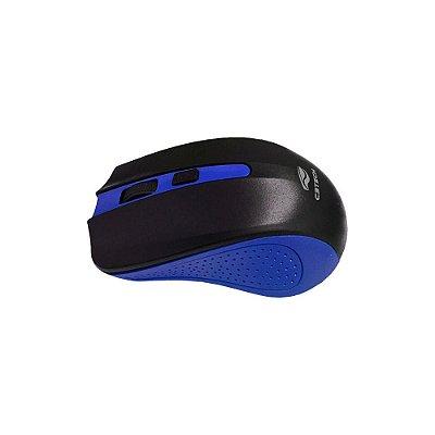 Mouse Sem Fio C3 Tech M-w20bl Preto/azul