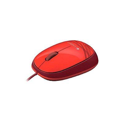 Mouse Logitech M105 Vermelho 1000dpi 910-002959
