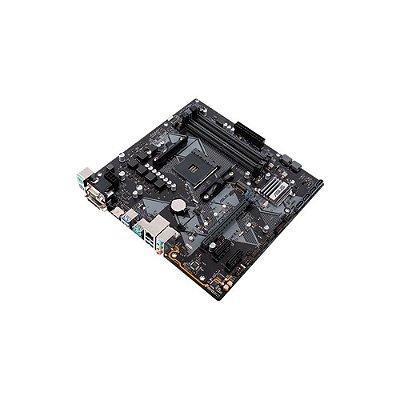 Placa-mãe Asus Para Amd Am4 Matx Prime B450m Gaming/br Ddr4
