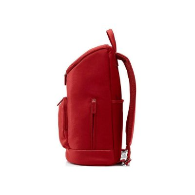 Mochila Hp Cayman P/ Notebook Até 15.6pol T0e14aa Vermelha
