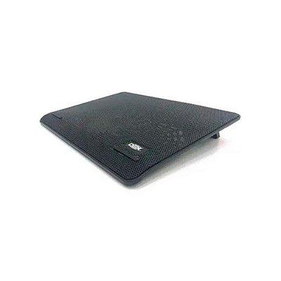 Base Para Notebook 15,6' Preto Com Fan 140mm Led Azul Dex