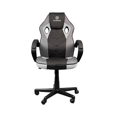 Cadeira Gamer Hoopson Reclinável E Giratoria Black-white