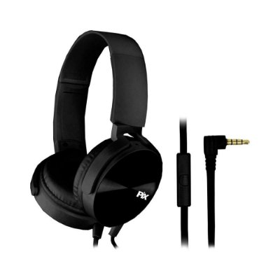 Headphone Essential Pix Com Microfone P2 Preto 043-0032